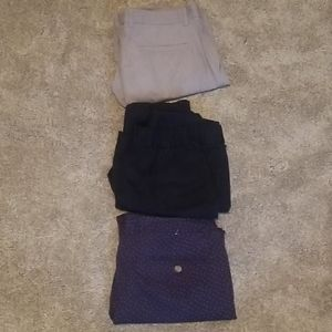 Pack of 3 GAP chino type pants